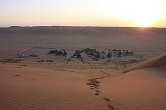 Sharqiya Sands - Image: Wahiba Sands, sunrise (6896834297)