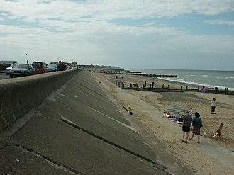 Walcott, Norfolk - Walcott seafront.