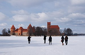 Lake Galvė - Frozen Lake Galvė