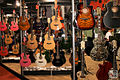 Walls of colorful acoustic guitars - Expomusic 2014.jpg