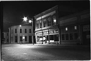 Greenville, Mississippi - Walnut Street, 1994