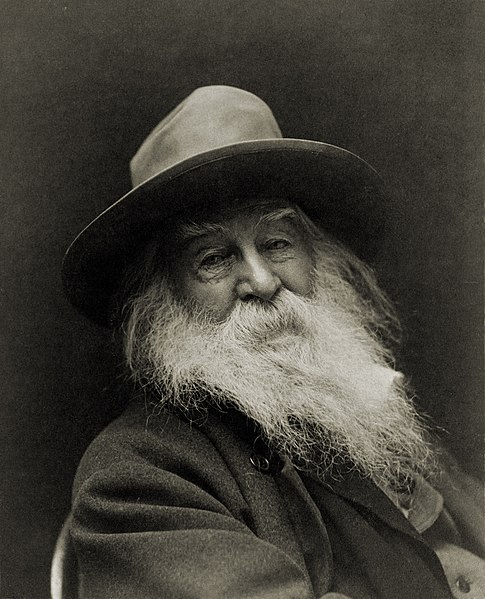 Walt Whitman.  Image: Library of Congress.