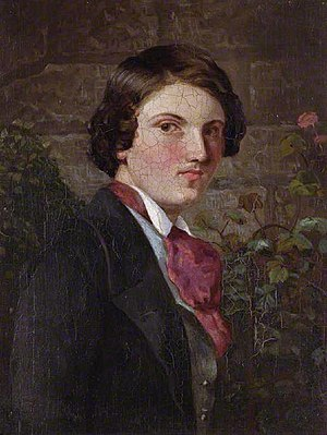 Walter Deverell - Self-portrait (c. 1849)