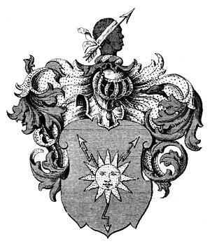 Bror von Blixen-Finecke - Blixen's coat of arms