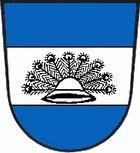 Das Wappen von Wustrow (Wendland)