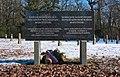 War cemetery for World war I in Marchtrenk, Upper Austria, Austria-russian section-field N-memorial stone PNr°0650.jpg