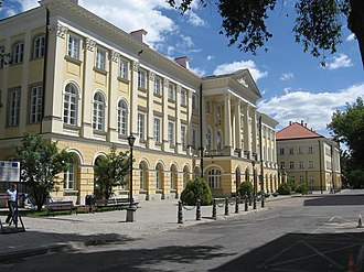 University of Warsaw - Kazimierz Palace, the University rectorate