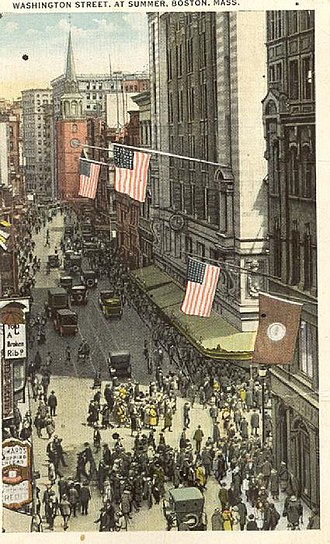 Washington Street (Boston) - Washington St., early 20th century