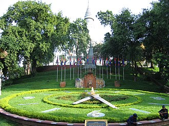 Phnom Penh - Wat Phnom gave the city its name