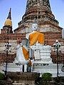 Wat Yai Chai Mongkhon Buddha statue 01.JPG
