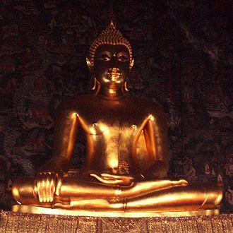Wat Suthat - Phra Si Sakyamuni, Buddha-Statue in Wat Suthat