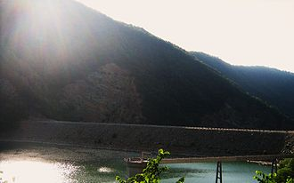 Watauga Dam - Image: Watauga dam 1