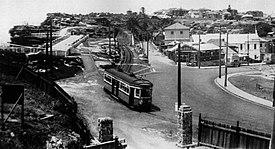 Watsons bay tram cutting gap park