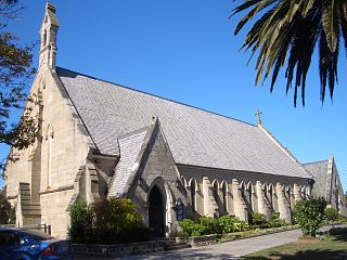 St Marys Anglican Church, Waverley Church in New South Wales, Australia