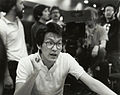"Wayne Wang preparing for a scene on the set of ""Dim Sum- A Little Bit of Heart"".jpg"