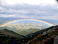 Weather cleared on the way down Pip Ivan and we were treated to a beautiful rainbow (3943319218).jpg