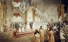 Procession During Tsar Alexander III And Tsarina Maria Feodorovnas Wedding