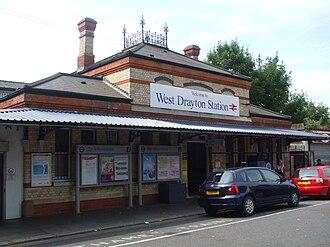 West Drayton railway station - Image: West Drayton stn main entrance
