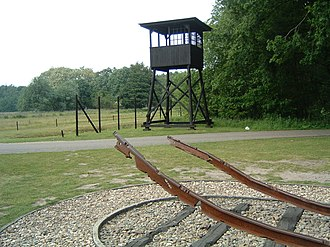 Westerbork transit camp - Image: Westerbork monument 2