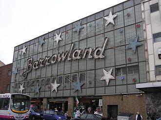 Barrowland Ballroom - Image: Wfm barrowland ballroom