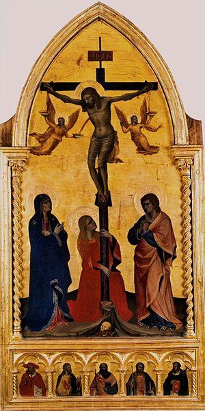 Nardo di Cione - Crucifixion (Uffizi Gallery)
