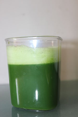 Wheatgrass - Wheatgrass juice