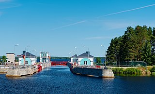 White Sea–Baltic Canal Ship canal in Russia