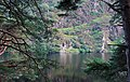 Wicklow Mountains National Park Glendalough Valley Kevins Bed View 02.JPG