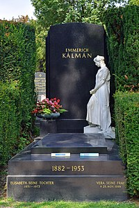 Wiener Zentralfriedhof - Gruppe 31 B - Emmerich Kálmán.jpg
