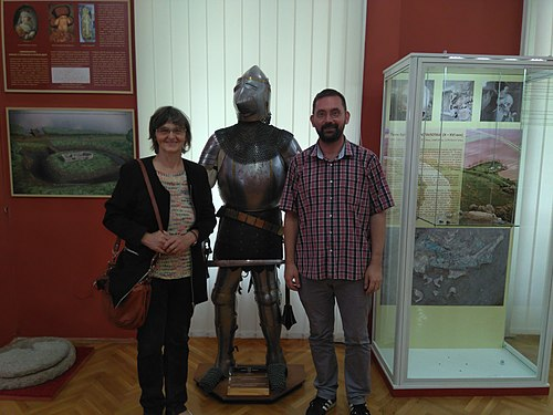Wikipedian in residence at Museum of Vrbas 02.jpg