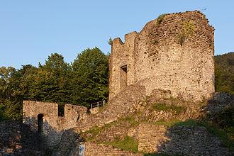 Wilderswil - Ruins of Unspunnen Castle