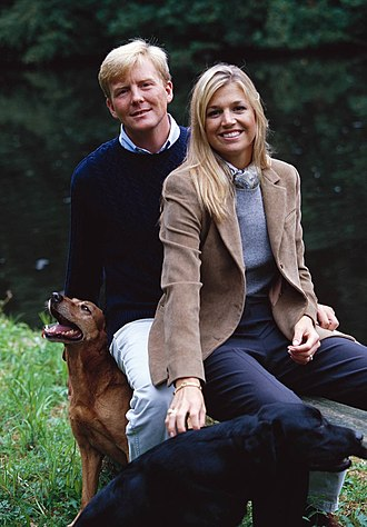 Queen Máxima of the Netherlands - Máxima and Willem-Alexander 2001