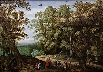 Elisha - The Prophet Elisha curses the children who mocked him, by Willem van den Bundel
