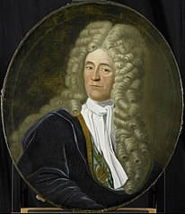 Portrait of Willem van Hogendorp, Director of the Rotterdam Chamber of the Dutch East India Company, elected 1692