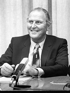 Willi Ritschard member of the Swiss Federal Council (1918-1983)