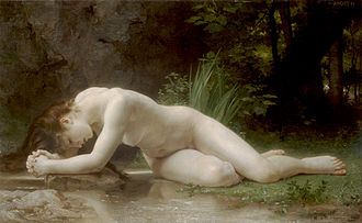 Byblis - Biblis by William-Adolphe Bouguereau (1884).
