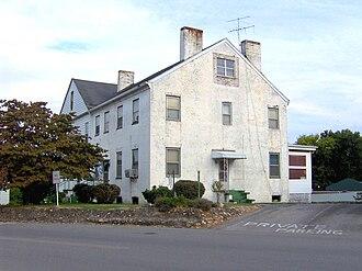 Lenoir City, Tennessee - The William Ballard Lenoir House, built in 1821, now part of the Ledbetter Apartments