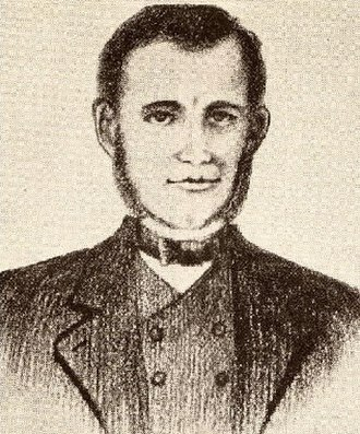 William B. Travis - William B. Travis in a sketch by Wyly Martin is the only known likeness of Travis drawn during his lifetime, although its accuracy has been questioned.