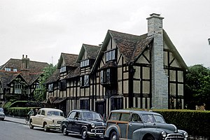 Shakespeare Birthplace Trust - Image: William Shakespeare Birthplace England 8