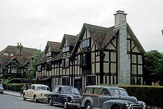 Shakespeare Birthplace Trust - Image: William Shakespeare Birthplace England 8