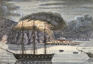 HMS North Star (1824) - Image: Williams North Star 1845