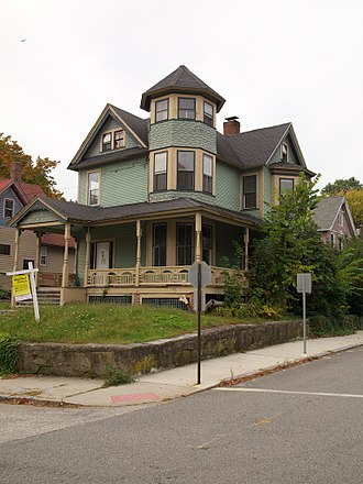 Willimantic, Connecticut - A Victorian-era house in the Prospect Hill Historic District