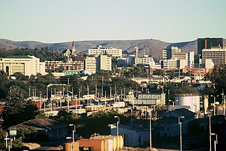Tourism in Namibia - Windhoek skyline