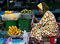 Woman sells fruits at a market in Bandar Seri Begawan; 2009.jpg