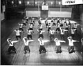 Women's physical education exhibition in Herron Gymnasium 1916 (3190735623).jpg