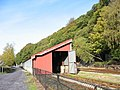 Wooden Rolling Stock Shed at Padarn Railway Yard - geograph.org.uk - 269529.jpg