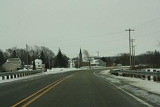 Woodland, Dodge County, Wisconsin - Image: Woodland Dodge County Wisconsin Looking South WIS67