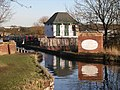 Wootton Wawen aqueduct from canal.jpg