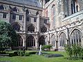 Worcester Cathedral UK 16052015 Cloisters5.jpg