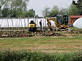Works underway at the plant nursery, Chawston - geograph.org.uk - 1284485.jpg